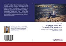 Buchcover von Business Policy and Strategic Management