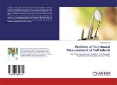 Bookcover of Problem of Functional Measurement at Full Adenti