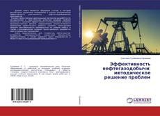 Bookcover of Эффективность нефтегазодобычи: методическое решение проблем