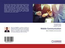 Mobile Communication kitap kapağı