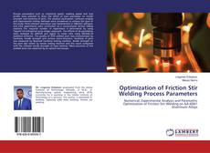 Bookcover of Optimization of Friction Stir Welding Process Parameters
