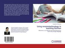 Using mnemotechnology in teaching German的封面