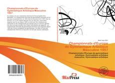 Bookcover of Championnats d'Europe de Gymnastique Artistique Masculine 1957