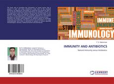 Buchcover von IMMUNITY AND ANTIBIOTICS