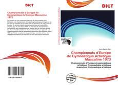 Bookcover of Championnats d'Europe de Gymnastique Artistique Masculine 1973