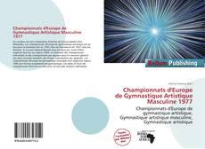 Bookcover of Championnats d'Europe de Gymnastique Artistique Masculine 1977