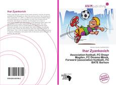 Capa do livro de Ihar Zyankovich