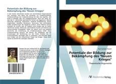 """Buchcover von Potentiale der Bildung zur Bekämpfung des """"Neuen Krieges"""""""