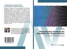 Buchcover von Theoretisches Studium der physikalischen Eigenschaften