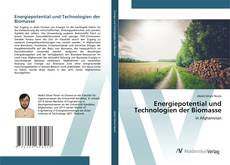 Обложка Energiepotential und Technologien der Biomasse