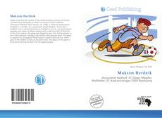 Capa do livro de Maksim Berdnik