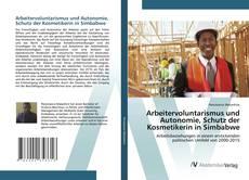 Capa do livro de Arbeitervoluntarismus und Autonomie, Schutz der Kosmetikerin in Simbabwe