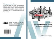 Borítókép a  Management von Stress - hoz