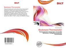 Copertina di Beckmann Thermometer