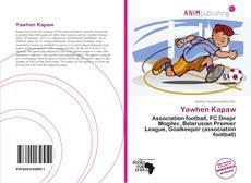 Capa do livro de Yawhen Kapaw