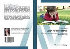 Bookcover of Lesen hei?t verstehen