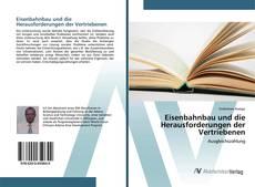 Capa do livro de Eisenbahnbau und die Herausforderungen der Vertriebenen