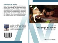 Bookcover of Physiologie des Schlafs