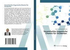 Capa do livro de Vereinfachte Organische Chemie für Studenten