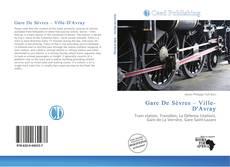 Gare De Sèvres – Ville-D'Avray kitap kapağı