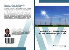 Reaktion auf die Nachfrage im modernen Energiesystem kitap kapağı