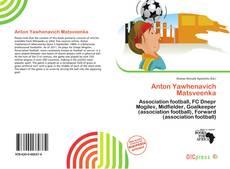 Capa do livro de Anton Yawhenavich Matsveenka