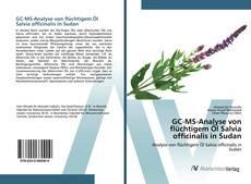 Bookcover of GC-MS-Analyse von flüchtigem Öl Salvia officinalis in Sudan