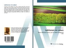Bookcover of Lektionen im Leben