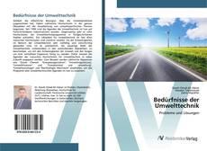 Portada del libro de Bedürfnisse der Umwelttechnik
