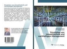 Simulation von Umwelttechnik und nachhaltigem Management kitap kapağı