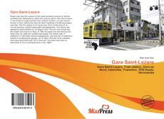 Gare Saint-Lazare kitap kapağı