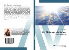 Bookcover of Ein Christus - wie Heimat