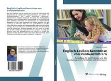 Bookcover of Englisch-Lexikon-Kenntnisse von Vordienstlehrern
