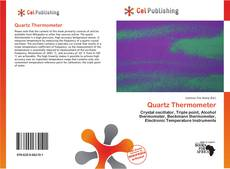 Quartz Thermometer kitap kapağı