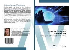 Buchcover von Untersuchung und Auswirkung