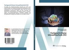 Обложка Fortgeschrittene Umwelttechnik (IV)