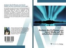 Buchcover von Analyse des Einflusses von Social Media auf die schulischen Leistungen