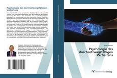Portada del libro de Psychologie des durchsetzungsfähigen Verhaltens
