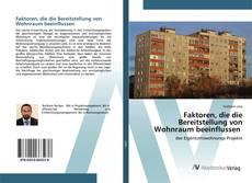 Buchcover von Faktoren, die die Bereitstellung von Wohnraum beeinflussen