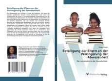 Buchcover von Beteiligung der Eltern an der Verringerung der Abwesenheit