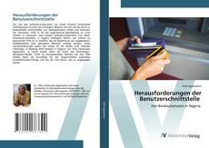 Capa do livro de Herausforderungen der Benutzerschnittstelle