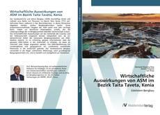 Capa do livro de Wirtschaftliche Auswirkungen von ASM im Bezirk Taita Taveta, Kenia