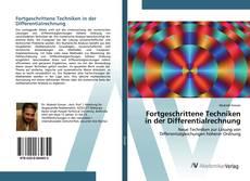 Fortgeschrittene Techniken in der Differentialrechnung kitap kapağı