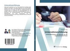 Unternehmensführung kitap kapağı