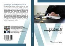 Buchcover von Grundlagen der Strafgerichtsbarkeit