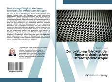 Buchcover von Zur Leistungsfähigkeit der linear-dichroitischen Infrarotspektroskopie