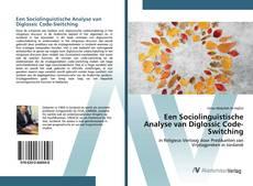 Обложка Een Sociolinguïstische Analyse van Diglossic Code-Switching