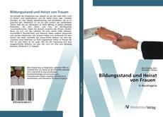 Bookcover of Bildungsstand und Heirat von Frauen