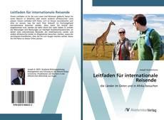Buchcover von Leitfaden für internationale Reisende