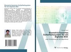 Capa do livro de Biometrie-basiertes Sicherheitssystem für ein digitales Bild